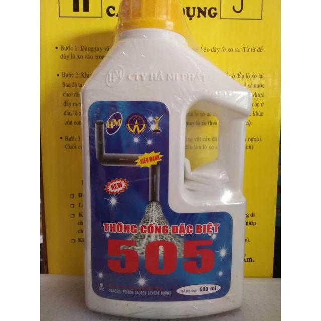 Nước thông cống 505
