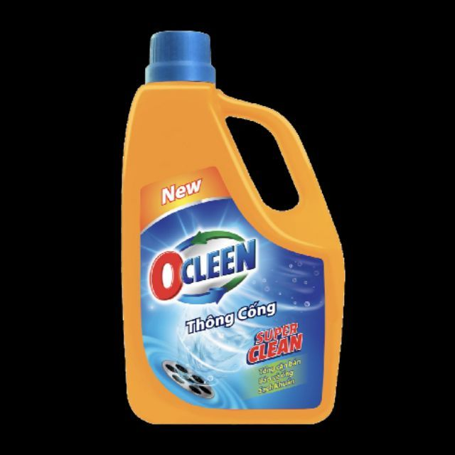 Nước thông cống Ocleen