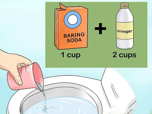 Thông cống tắc bằng Baking soda